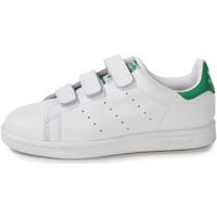 Chaussures Enfant Baskets basses adidas Originals Stan Smith Enfant he Blanc