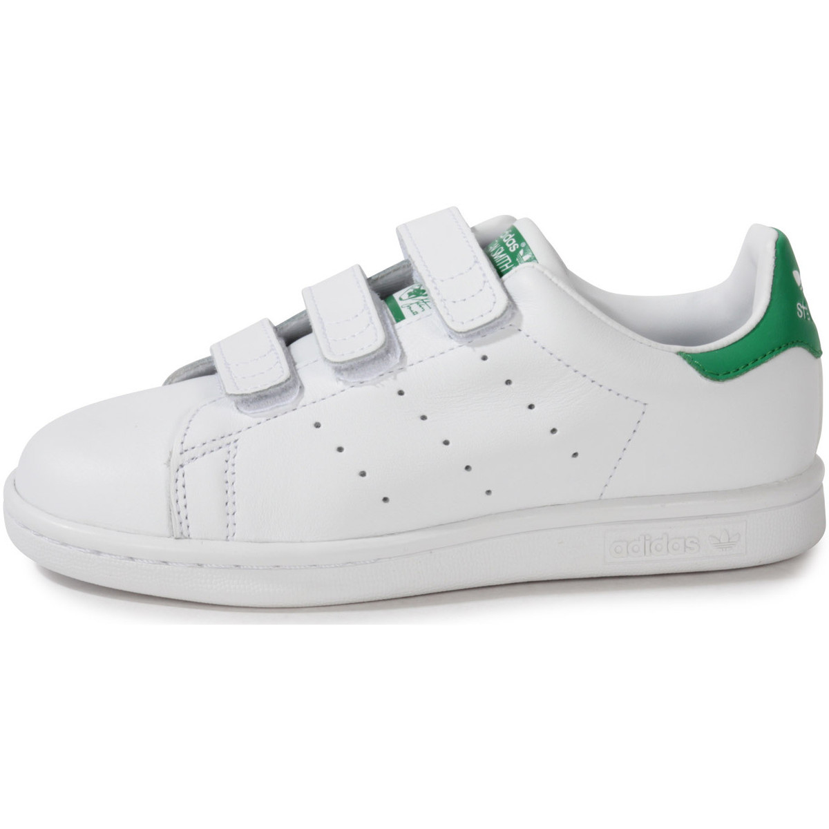 adidas originals stan smith enfant he blanc chaussures baskets basses enfant 56 58. Black Bedroom Furniture Sets. Home Design Ideas