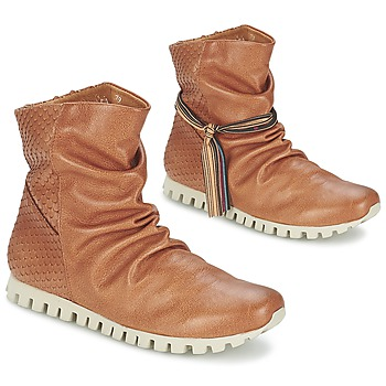 Chaussures Femme Boots Felmini COIN Camel