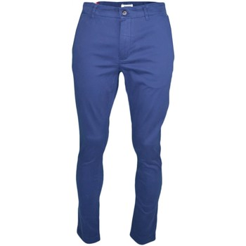Vêtements Homme Pantalons de costume Tommy Jeans Pantalon chino  bleu marine slim fit pour homme Bleu