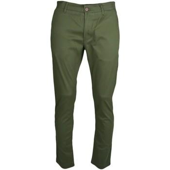 Vêtements Homme Pantalons de costume Tommy Jeans Pantalon chino  vert kaki slim fit pour homme Vert