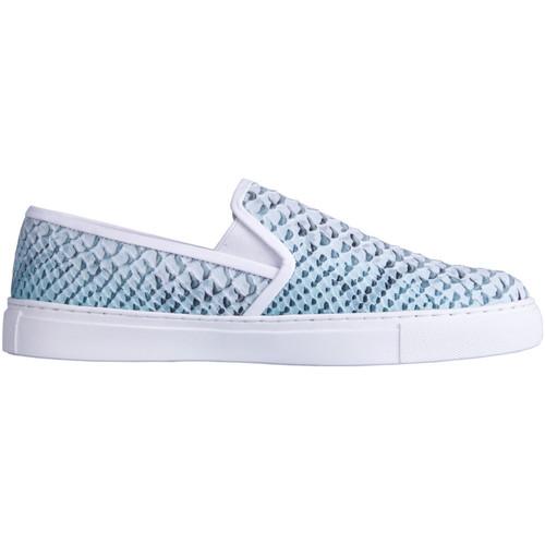 Chaussures Femme Slip ons Kesslord KOOL KOOL_AN_LG Bleu