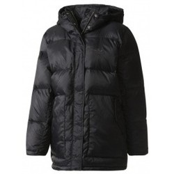 Vêtements Femme Doudounes adidas Originals Mid Down JKT noir