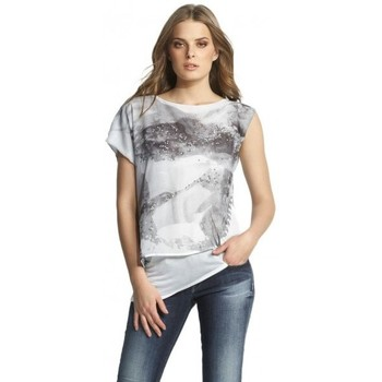 Vêtements Femme T-shirts manches courtes Salsa T Shirt  Jamaica blanc 112420 1