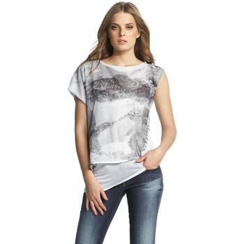 Vêtements Femme T-shirts manches courtes Salsa T Shirt  Jamaica blanc 112420