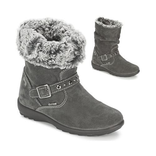 Chaussures Fille Bottes ville Primigi GLOSSY GORETEX Gris