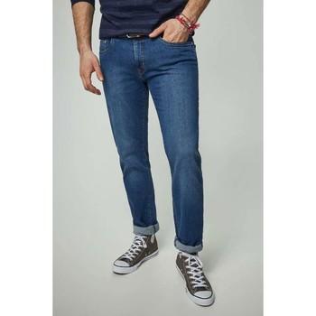 Vêtements Homme Jeans Kebello Jean's coupe classique H Bleu Bleu