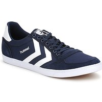Chaussures Baskets basses Hummel TEN STAR LOW CANVAS Marine