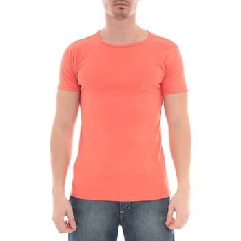 Vêtements Homme T-shirts manches courtes Ritchie T-SHIRT WARLOF Rouge clair
