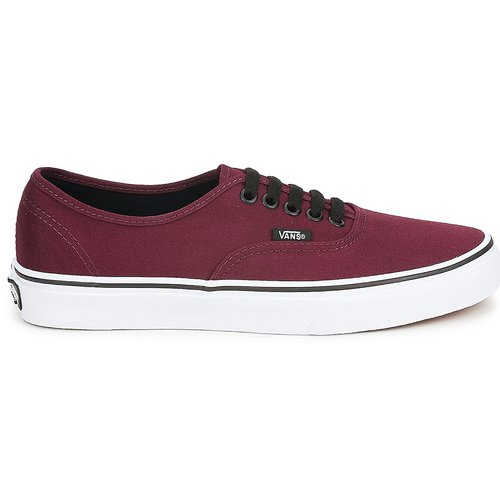 Authentic Vans Vans Basses Bordeaux Baskets Authentic Baskets 0O8wPnk