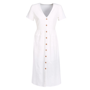 Vêtements Femme Robes longues Betty London KIGAGE Blanc
