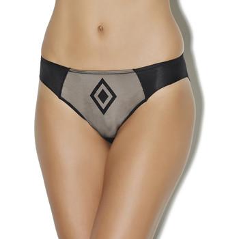 Sous-vêtements Femme Culottes & slips Aubade slip brésilien les petites tricheries Noir