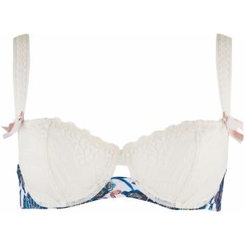 Sous-vêtements Femme Corbeilles & balconnets Aubade soutien-gorge corbeille conte russe Lagoon