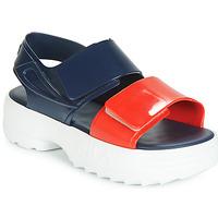 Chaussures Femme Sandales et Nu-pieds Melissa SANDAL + FILA Marine / Rouge / Blanc