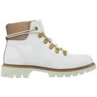 Chaussures Femme Boots Caterpillar Handshake W Blanc, Beige