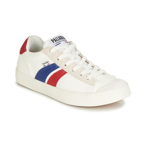 Chaussures Baskets basses Palladium PALLAPHOENIX FLAME Blanc