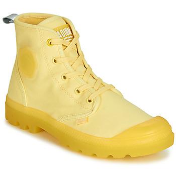 Chaussures Femme Boots Palladium PAMPALICIOUS Jaune