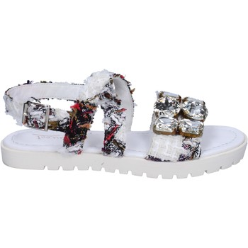 Sandales Ioannis sandales blanc textile strass BT873