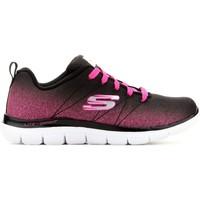 Chaussures Enfant Baskets basses Skechers Domyślna nazwa czarny, różowy