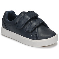 Chaussures Enfant Baskets basses Clarks CITY OASISLO T Marine