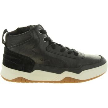 Chaussures Enfant Boots Geox J847RC 05422 J PERTH Negro