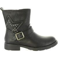Chaussures Fille Bottes Geox J74D3C 000BU J SOFIA Negro