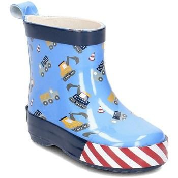 Chaussures Enfant Bottes de pluie Playshoes 18034817 bleu