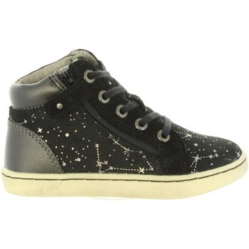 Chaussures Fille Baskets montantes Kickers 572061-10 LYLUBY Negro