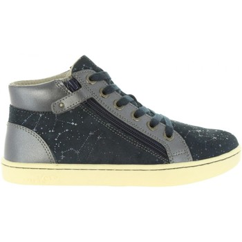 Chaussures Fille Baskets mode Kickers 572061-30 LYLUBY Azul