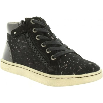 Chaussures Fille Baskets montantes Kickers 572061-30 LYLUBY Negro