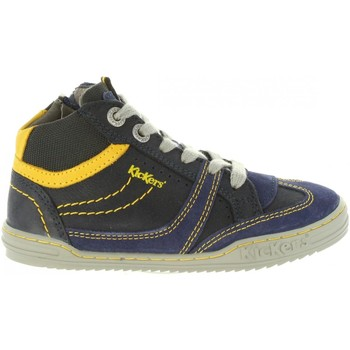 b75d52cdd01a00 Chaussures Enfant Baskets montantes Kickers 661470-30 JIROMA Azul