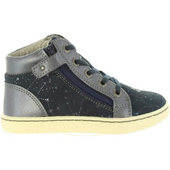 Chaussures Fille Baskets montantes Kickers 572061-10 LYLUBY Azul