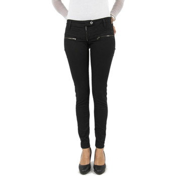 Vêtements Femme Jeans slim Please p19m noir