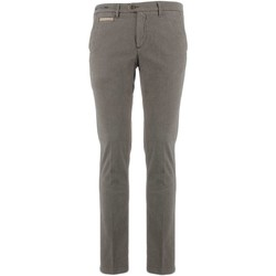 Vêtements Homme Chinos / Carrots Teleria Zed MADE IN ITALY ROBIN Tortora