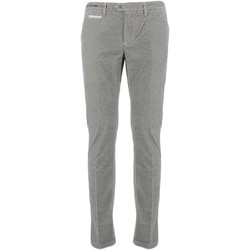 Vêtements Homme Chinos / Carrots Teleria Zed VE MADE IN ITALY Gris