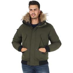 Vêtements Homme Blousons Helvetica Blouson  ref_helv44926 Kaki Vert