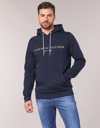 Vêtements Homme Sweats Tommy Hilfiger TOMMY LOGO HOODY Marine