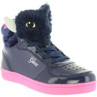 Chaussures Fille Baskets montantes Geox J844ME 0AJ02 J DJROCK Azul