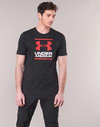 Vêtements Homme T-shirts manches courtes Under Armour GL FOUNDATION SS Noir