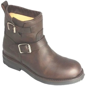 Chaussures Homme Boots Go'west BIKY HOMME Marron chocolat