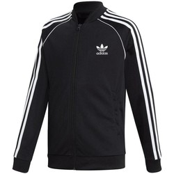 Vêtements Sweats adidas Originals SUPERSTAR TOP Noir