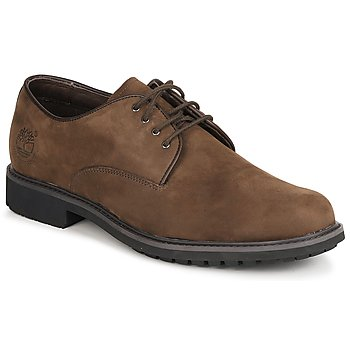 Chaussures Homme Derbies Timberland EK STORMBUCK PLAIN TOE OXFORD Marron foncé
