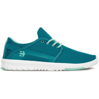 Chaussures Femme Baskets basses Etnies SCOUT WOS BLUE WHITE