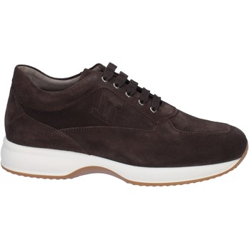 Chaussures Homme Baskets basses Triver Flight sneakers marron daim BT945 Marron