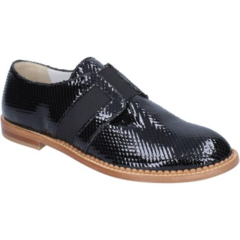 Chaussures Femme Mocassins Arnold Churgin élégantes noir cuir verni BT955 noir