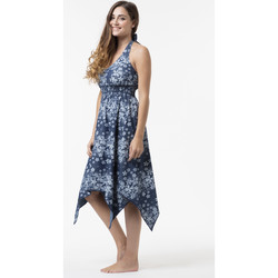 Vêtements Femme Robes courtes La Cotonniere ROBE DOS NU ELENA Multicolore