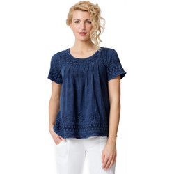 Vêtements Femme T-shirts manches courtes La Cotonniere TUNIQUE CAMELIA 19