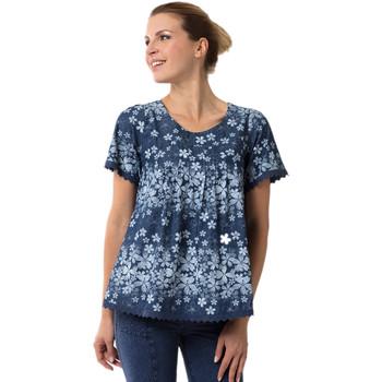 Vêtements Femme T-shirts manches courtes La Cotonniere TUNIQUE CAMELIA Multicolore