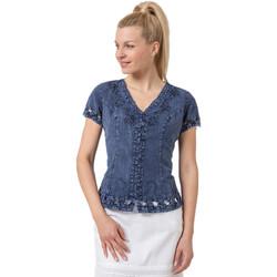 Vêtements Femme Chemises / Chemisiers La Cotonniere CHEMISIER DAISY Bleu