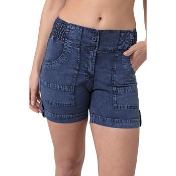 Vêtements Femme Shorts / Bermudas La Cotonniere BERMUDA ANDREA Bleu